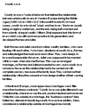 essay on courtly love Courtly love in the franklin's tale this research paper courtly love in the franklin's tale and other 63,000+ term papers, college essay examples and free essays are.