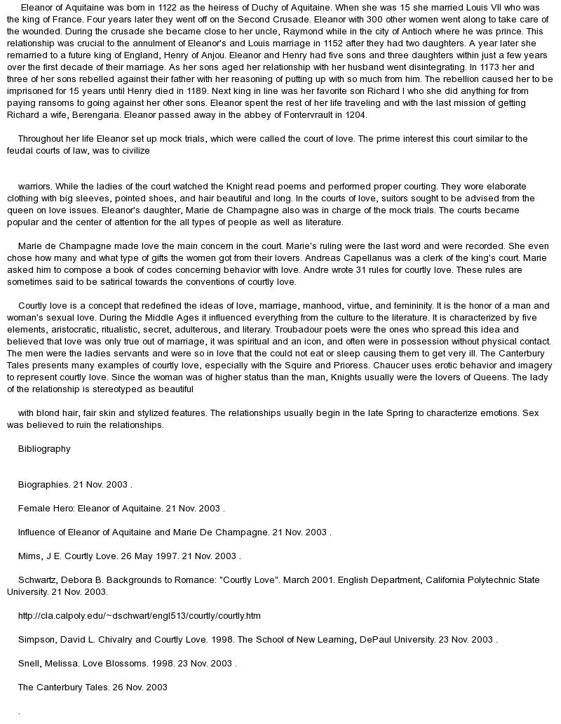 eleanor of aquitaine essay