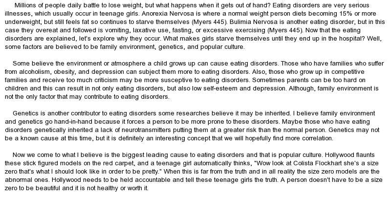 nature vs nurture debate referencing to eating disorders Eating disorders anorexia symptoms  home » news » understanding the impact of nature and nurture on adhd behavior  understanding the impact of nature and nurture on adhd behavior psych .