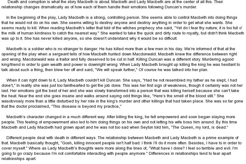 letter to macduff This is the story of isabel macduff comyn, a patriot of scotland  important that  all the other traditions of coronation be followed to the letter.