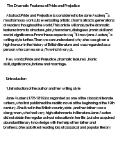 Critical essays on pride and prejudice - Custom Papers