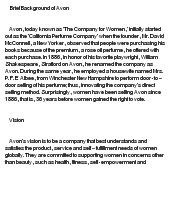 Essay on cosmetics