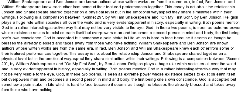 Custom shakespeare essays