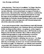 Point Of View Essay Examples Symbolism In Cask Of Amontillado Essay Tragic Hero Essays also Environmental Issues Essays Symbolism In Cask Of Amontillado Essay Essay Writing Service  Essay Abstract Example