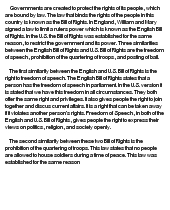 the bill of rights essay the bill of rights essay 2884 words by paperdue