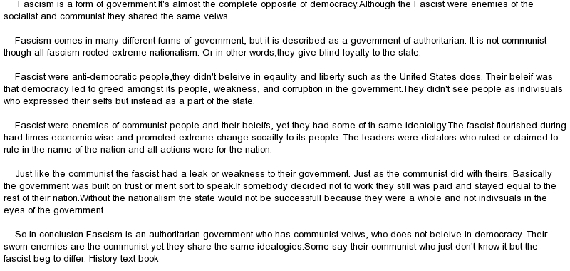 essay on Machiavelli's Thoughts on Government