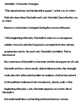 """hamets change of character essay example I've chosen the topics of loss and family complications to address in my  curriculum unit  how does the character of hamlet change throughout the play   about gertrude in the essay character of hamlet's mother (1), """"but gertrude,  if she is."""