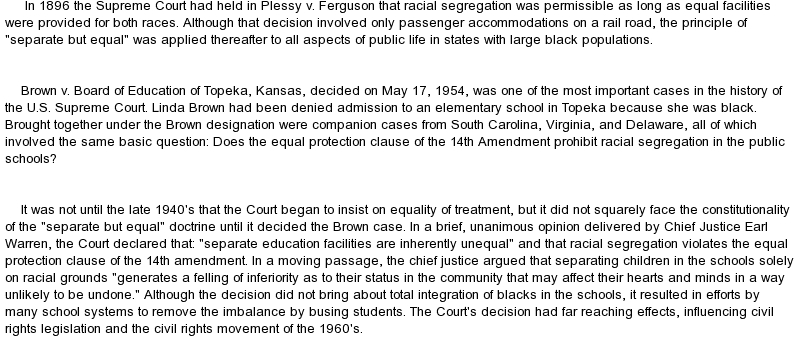 Thurgood Marshall Brown vs Board of Education