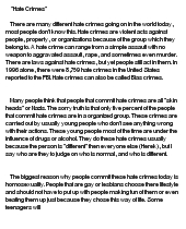 hate crimes essay co hate crimes essay