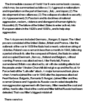 World War 1 Essay Paper Examples