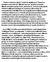 understanding american culture ii essay He research paper is an original essay presenting your ideas in response to information chapter 10 writing the research paper 161 after doing some preliminary background reading and writing assignments on american popular culture.