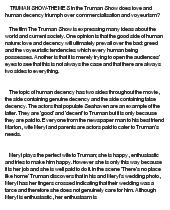 truman show christof essay writer