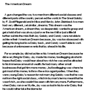What Is A Thesis Statement For An Essay The American Dream Essay Thesis Docoments Ojazlink How To Write A High School Essay also My First Day Of High School Essay The American Dream Essay Hook  Docoments Ojazlink Essay In English Literature