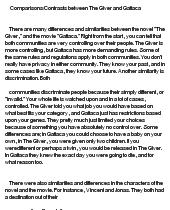 Gattaca Essay - GCSE Miscellaneous - Marked by Teachers.com