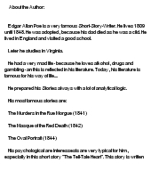 "Analysis of ""The Tell-Tale Heart"""