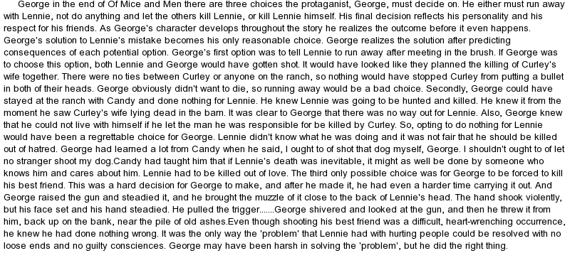 prejudice in of mice and men How are the themes of prejudice and violence explored in the novel of mice and men  like prejudice,  george letter mice and men  discuss the.