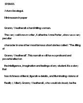 Essay writing my grandmother | Enoteca La Vigna