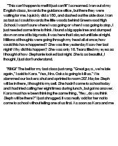 essay about my true friend