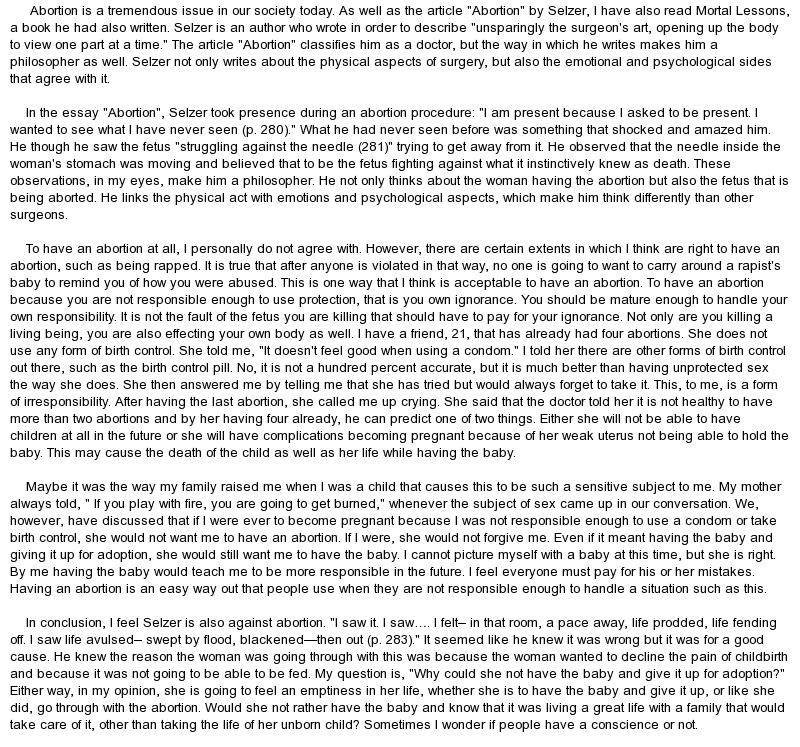 joan didion on morality essay