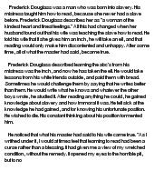 essays on frederick douglass docoments ojazlink frederick douglass reflective essay at com