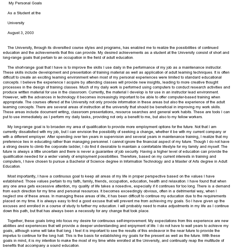 my goals in life sample essay docoments ojazlink ethical consideration for research proposal essay on values book