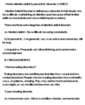 attention deficithyperactivity disorder essay Adha – attention deficit hyperactivity disorder custom essay write a clinical research paper on adhd ( attention deficit hyperactivity disorder.