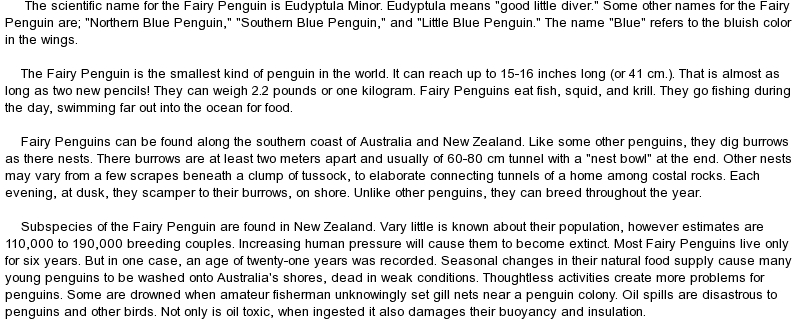 essay writing tips to essay on penguins penguins adaptations for an aquatic environment