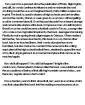 Tyra friday night lights college essay quote