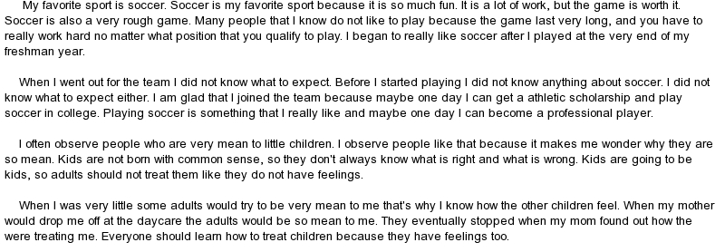 speech on my favorite person How do you start a speech about your favorite sport depending on your type of speech (motivation locate what a famous person has said about your.
