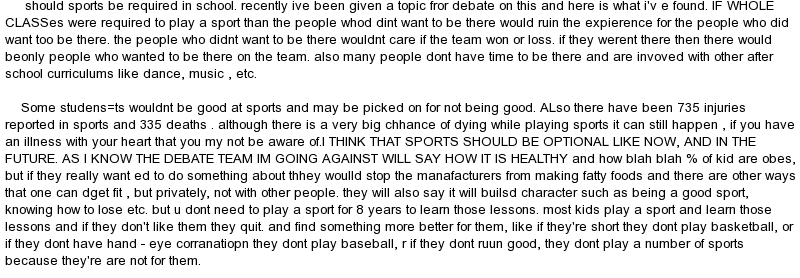 should cheerleading be a sport essay If cheerleading doesn't deserve to be a sport, what does in the past cheerleading was a club, used to pump up the crowd, by jumping up and down.