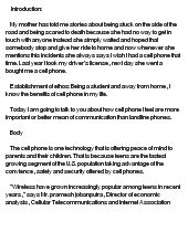 persuasive essay cell phone use while driving Persuasive essay cell phone use while driving - wendy holland due to the rapid widespread of cell phones and the dazzling improvements that have overwhelmed this.