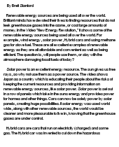 green energy essay docoments ojazlink energy essay this on conservation paper