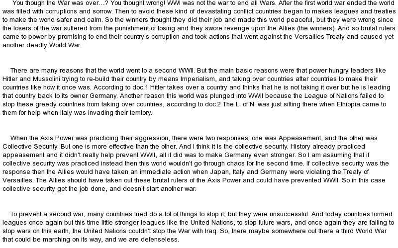 essay on ww1 and ww2 I just finished writing a long essay but the introduction needs some work i wrote it but i need it to be more coherent and flow like in a sense so it impresses the.