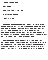 management in the future essay Financial management essay custom student mr teacher eng 1001-04 1 may 2016 financial management in the future, though.