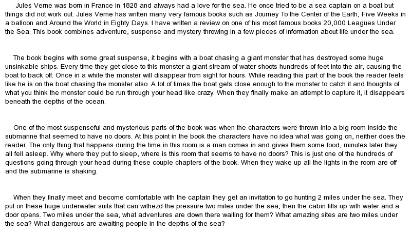 jules verne research paper This sample jules verne essay is published for informational purposes only free essays and research papersread more here.