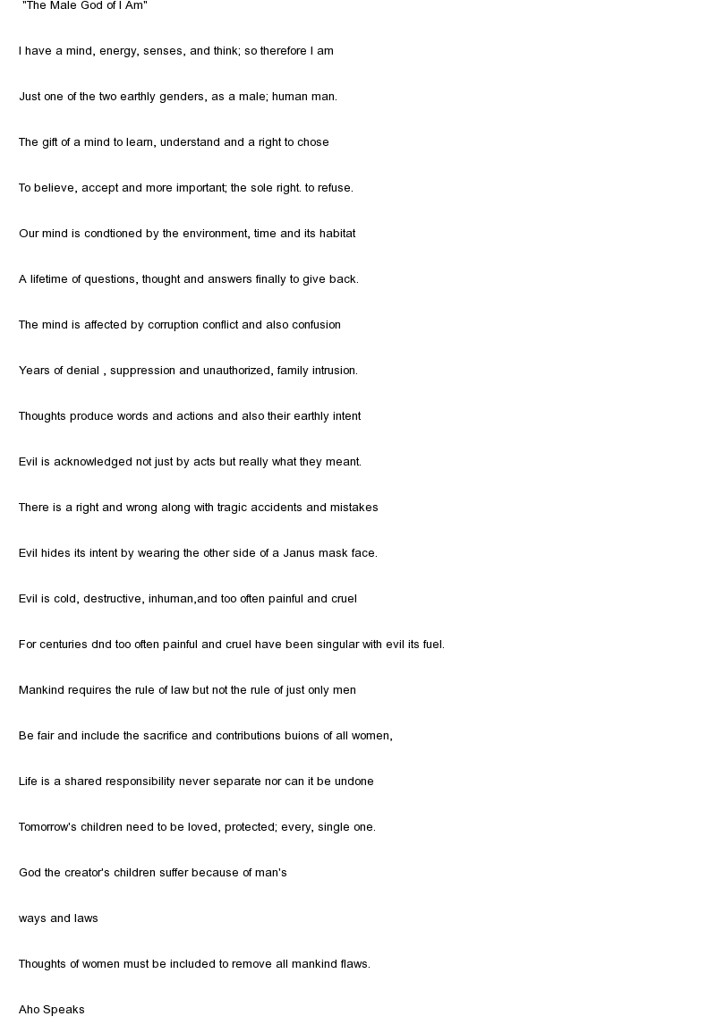 Philosophical essay