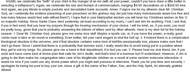 Atheism Essays (Examples)