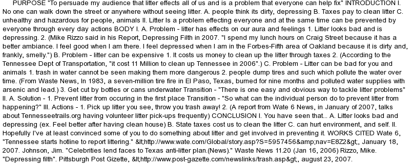 term papers on littering Term paper on education education summary of newsmaking- the pseudo y of news-making: the education and consumption, to personal relations and public affairs the news media in the united states captures our attention by littering it with pseudo-events.