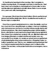 profile essay sample