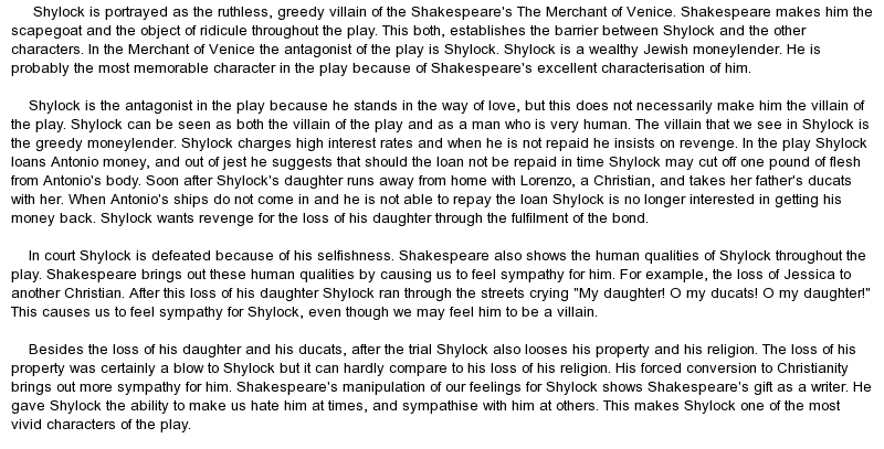 on the merchant of venice essays on the merchant of venice