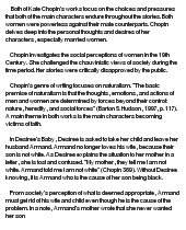 "the life of kate chopin essay Kate chopin's short story ""the storm"" is centered on a one-day affair during a   the story portrays their adultery as a good thing for everyone, which goes."
