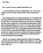 fan fiction essays